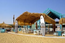 Element Center El Gouna, Ansicht vom Strand