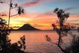 Bunaken -  Siladen Dive Resort, Abendstimmung