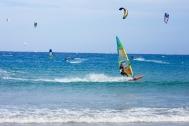 El Naaba - Windsurfen und Kiten am Hauptspot