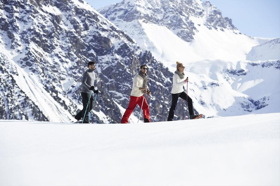Arosa - ROBINSON Club, Schneeschuhwandern