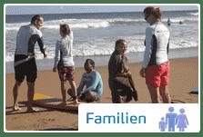 Surfurlaub mit der Familie