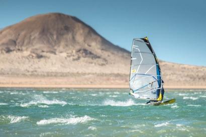Dakhla Süd - Windsurfing Action