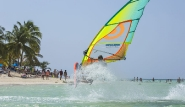 Tobago - Radical Sports, Windsurf Action Beach