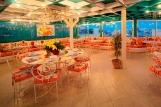 El Gouna, Turtle`s Inn, Restaurant Chez Chantal innen