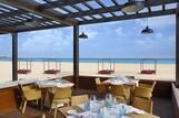 Sal - Hilton Cabo Verde - Restaurant aussen mit Meerblick, © 2019 Hilton