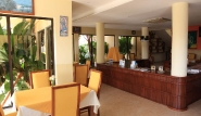 Sal - Santa Maria Beach, Lobby und Frühstücksraum