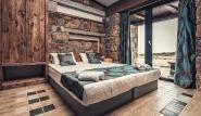 Limnos - Keros Blue, Schlafzimmer mit Lagunenblick, Villa Deluxe