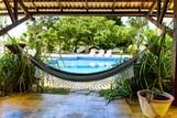 Parajuru - Casa Grande, Relaxen mit Poolblick