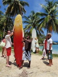 Sun and Fun Wellenreitreisen ins Cabarete Surfcamp
