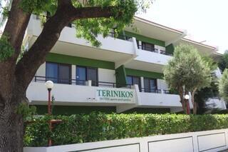 Rhodos Trianda, Terinikos, Anlage von aussen