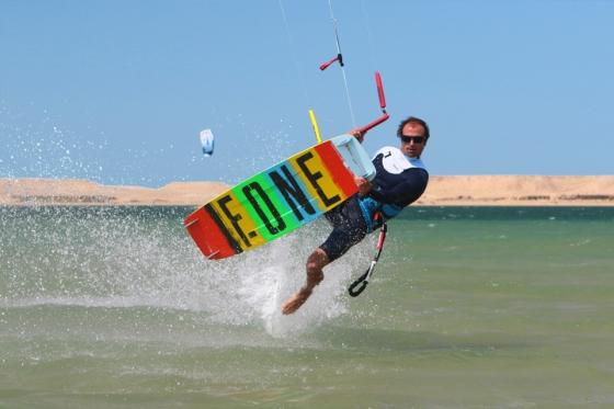Dakhla Nord - Kiter am KBC Center