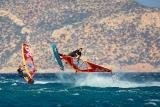 Karpathos - Meltemi Windsurfing Devils Bay, Windsurf Action